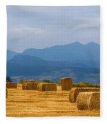 Colorado Agriculture Farming Panorama View Pt 2 Fleece Blanket