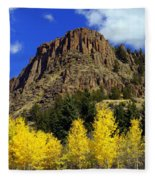 Colorado Butte Fleece Blanket