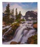 Colorado Cascading Waters Fleece Blanket