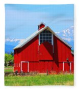 Colorado Country Fine Art Print Fleece Blanket
