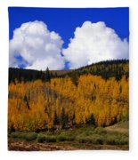 Colorado Fall 2 Fleece Blanket