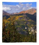 Colorado Fall Fleece Blanket