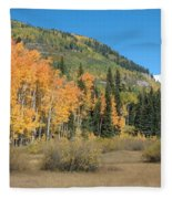 Colorado Gold Fleece Blanket