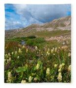Colorado Late Summer Splendor Fleece Blanket