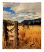 Colorado Meadow Fleece Blanket
