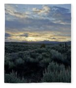 Colorado Morning Fleece Blanket
