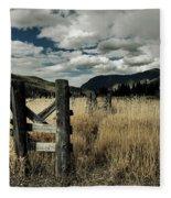 Colorado Mountain Meadow Fleece Blanket
