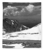 Colorado Mountians 1 Fleece Blanket