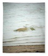 Colorado Net Fishing Fleece Blanket