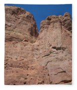 Colorado Redrock Fleece Blanket