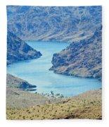 Colorado River Arizona Fleece Blanket