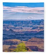 Colorado River In The Grand Canyon Fleece Blanket