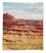 Colorado River View Fleece Blanket