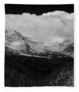 Colorado Rocky Mountains Continental Divide Fleece Blanket