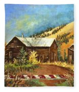 Colorado Shed Fleece Blanket