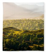 Colorado Springs Fleece Blanket