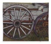 Colorado Wheels Fleece Blanket