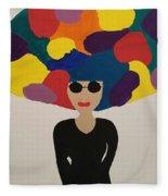 Color Fro Fleece Blanket