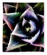 Colorful Cactus Fleece Blanket