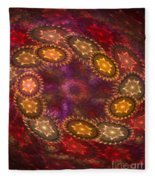 Colorful Galaxy Of Stars Fleece Blanket