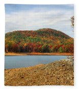 Colorful Georgia Fleece Blanket