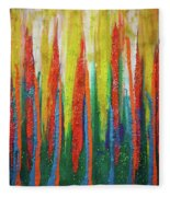 Colorful Grace Fleece Blanket