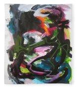 Colorful Landscape1125 Fleece Blanket