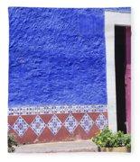 Colorful Mexico Fleece Blanket