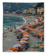 Colorful Monterosso Fleece Blanket