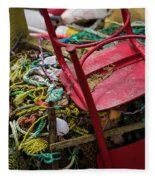 Colorful Pile 1 Fleece Blanket