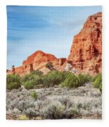 Colorful Rock Formations In Kodachrome Basin State Park, Utah Fleece Blanket