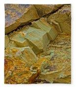 Colorful Rocks Fleece Blanket