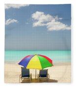 Colorful Shade Fleece Blanket