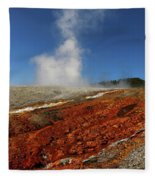 Colorful Thermal Area  Fleece Blanket