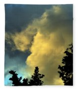 Coloring Clouds Fleece Blanket