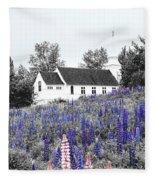 Coloring Fleece Blanket