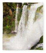 Colors Above The Water Fleece Blanket