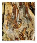 Colors Of Bark Fleece Blanket