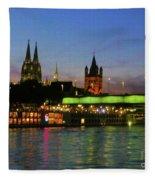 Colors Of Cologne Fleece Blanket