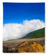 Colors Of Costa Rica Fleece Blanket