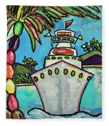 Colors Of Cruising Fleece Blanket