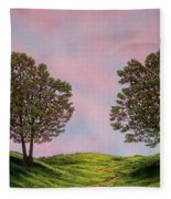Colors Of Dawn Fleece Blanket