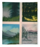 Colors Of Landscape 2 Fleece Blanket