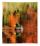 Colors Of The Morning Fleece Blanket