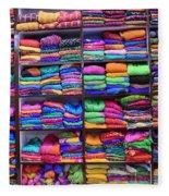 Colors Fleece Blanket