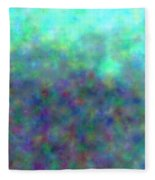 colour impression 1-A rainy summers day Fleece Blanket