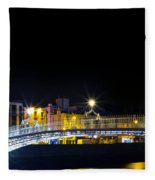 Colours Of The Night Fleece Blanket