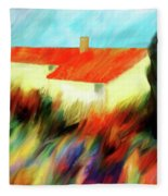 Colours Of The Wind Fleece Blanket