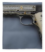 Colt 1911 Fleece Blanket