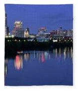 Colts Blue Hour Night Fleece Blanket